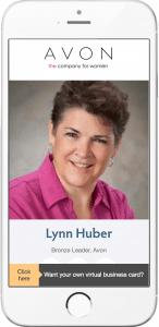 Lynn Huber Shuffle Business Card