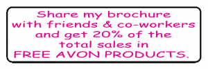 Avon Brochure Label - Share My Brochure