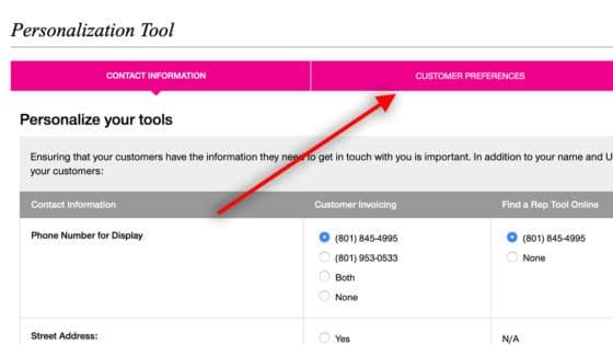 Personalization Tool