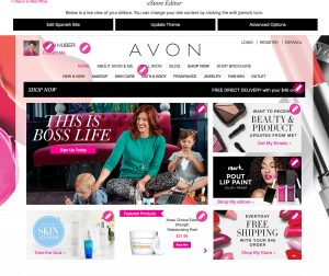 How to Setup Your Avon eRepresentative Website