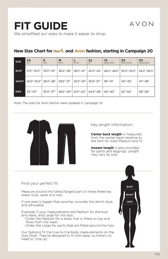 Avon Fit Guide 2017