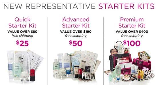 Avon Representative Starter Kits