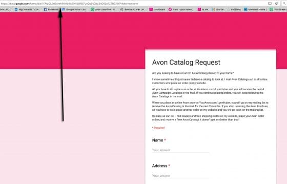How to Create an Avon Catalog Request for Social Media