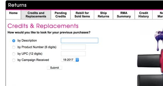 How To Process Avon Returns