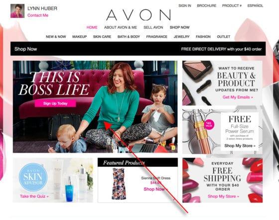 How Do I Sign Up A New Avon Representative