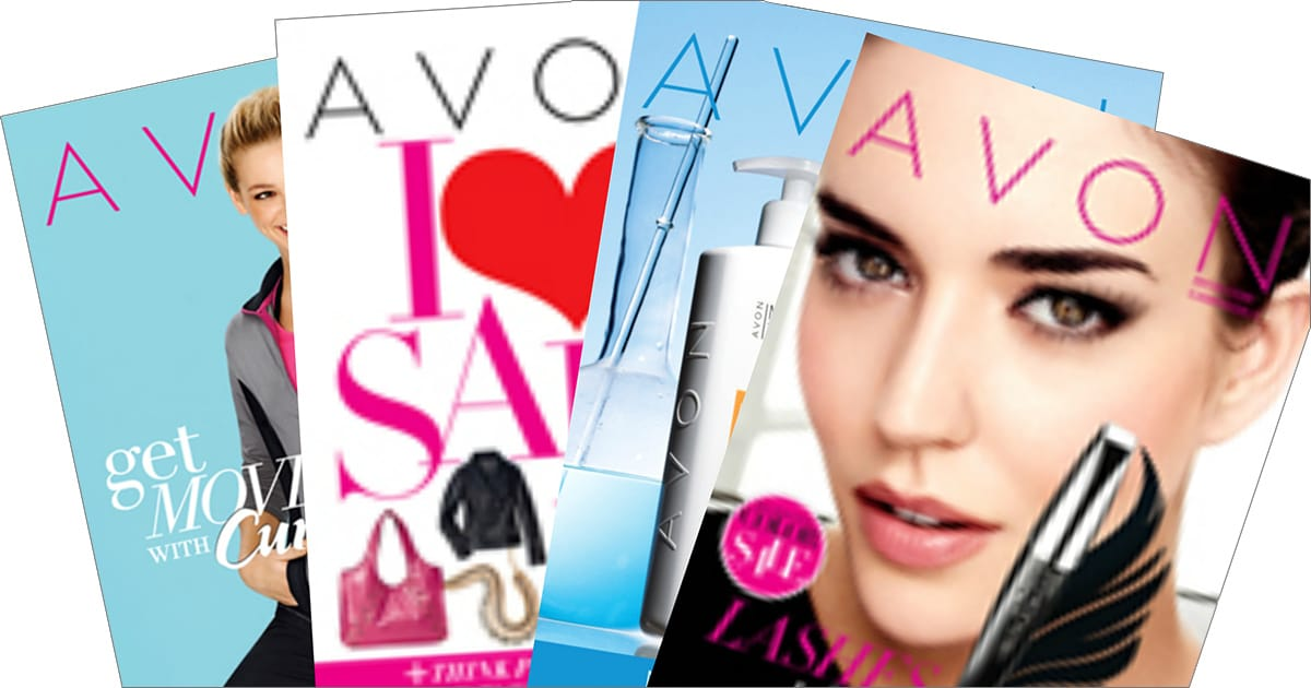 Start Building Your Avon Business With Avon Brochures!