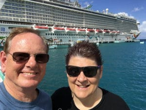 Lynn & Richard Cruise Ship