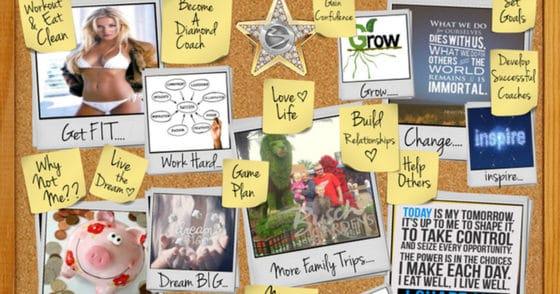 Vision Board Fun – Manifest Your Dream Avon Business & Life
