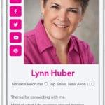 Lynn's Instagram Shuffle Card