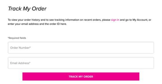 Track My Order