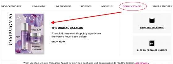 How to Share Your Avon Digital Catalog