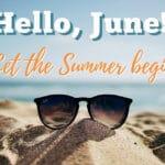June, 2020 Social Media Posts Calendar