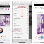 Share Your Avon Digital Brochure from Your Online Store