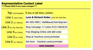 Campaign Mailer - Label