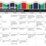 September 2020 Social Media Posts Calendar