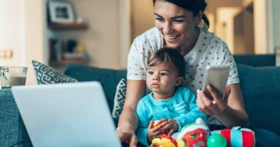 Striking A Balance As A Work At Home Mom