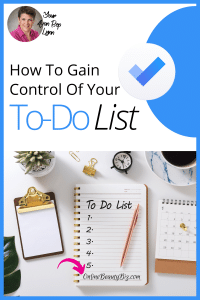How To Gain Control Of Your To-Do List
